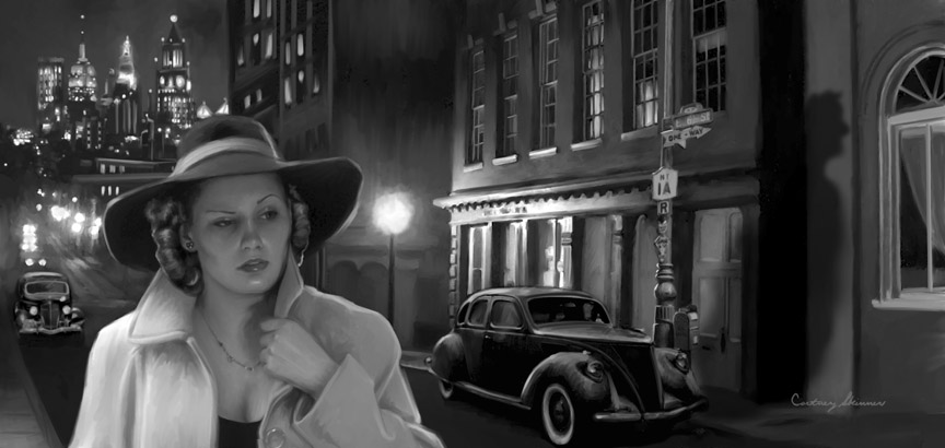 "From Moonstone Books, series, ""The Spider,"" the 1930s crime fighter, Nita, the Spider's female associate is threatened by a shadowy menace in the dark New York City' streets."