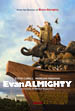 "Filmed in 2006 in Virginia, Universal Picture's ""Evan Almighty"" (Starring Steve Carell and Morgan Freeman) offered a unique opportunity to create a painting in very unusual circumstances. The comedy concerns a local congressman, Evan Baxter (Steve Carell) who is instructed by God, (Morgan Freeman) to build an ark. The set was gigantic. Fully half the length of the ark was built on site. In the movie, as the ark is built, crowds gather and a carnival atmosphere surrounds the construction. I was hired to act as just a background element, an artist who had set up his easel to paint this monstrous ship."
